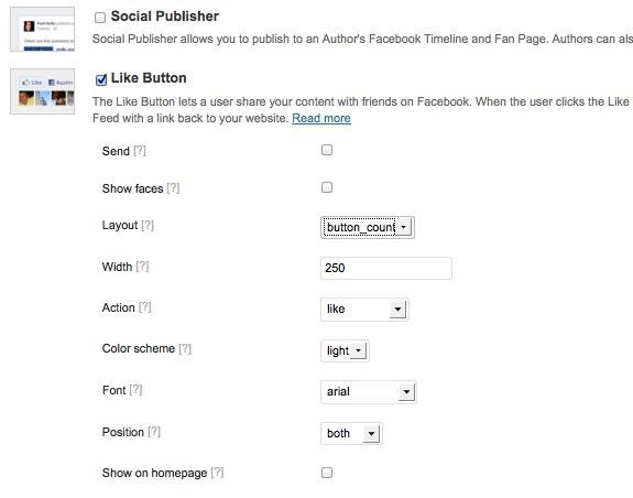 Facebook Plugin Settings ‹ ころぐのブログ — WordPress-3