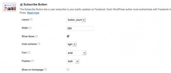 Facebook Plugin Settings ‹ ころぐのブログ — WordPress-4