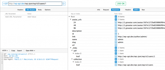/wp-json/wp/v2/users/<user_id> で個別のユーザーの情報取得