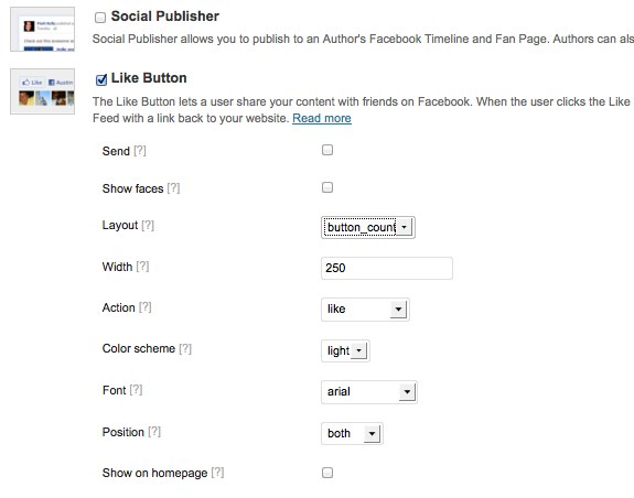 Facebook Plugin Settings ‹ ころぐのブログ — WordPress-3