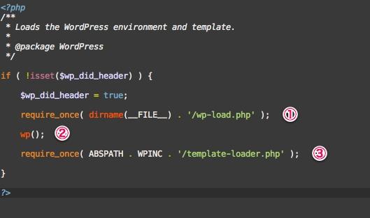 WordPressのquery.phpを読む(2)wp-blog-header.phpの役割とwp()関数、$postsの生成